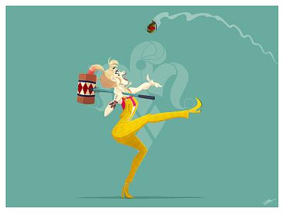 HARLEY QUINN harley quinzel movie fanart movie dc universe digital illustration dc dc comics batman harley harley quinn fanart dessin character illustration art character design illustration drawing