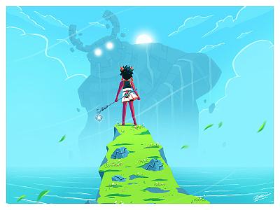 GOLEM AWAKEN artwork concept design monster fantastic fantasy art illustration art character design character illustration drawing concept concept art golem