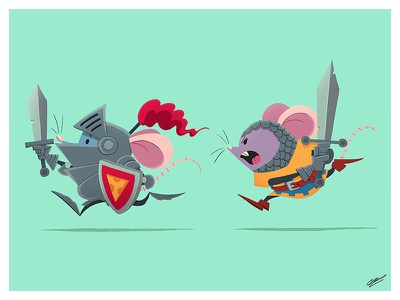 MOUSE KNIGHT knight animals character design illustration art art design character illustration drawing animal mouse
