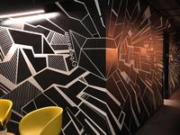 CBR Wall Graffiti / Cybereason New TLV Office