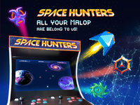 SPACE HUNTERS  //  All Your Malop Are Belong To Us!