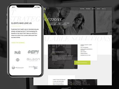 Virtual Systems | Website website design tech michigan custom wordpress ui web design web design ux website