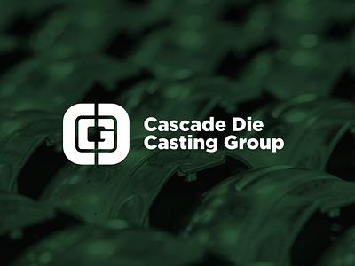 Cascade Die Casting Group | Branding logo designer identity branding identity die casting illustration design michigan logo branding brand
