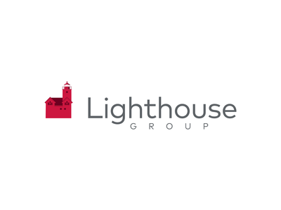 Lighthouse Group | Brand Project redesign red rebranding rebrand insurance lighthouse icon typography michigan logo branding brand