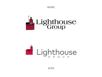 Lighthouse Group | Brand Project rebranding agency branding insurance logo corporate branding corporate identity branding and identity branding agency brand identity rebrand typography logo branding brand michigan