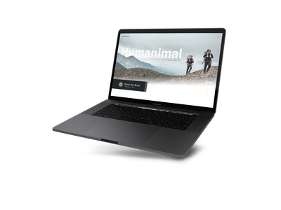 Humanimal | Website mountains custom wordpress ux design outdoors hunting keefer brothers wordpress michigan website web