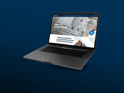 Kerkstra | Website web design ui ux wordpress michigan design website web