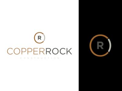 Copperrock construction logo branding brand