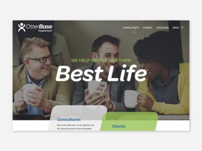 Otterbase michigan grand rapids redesign web design wordpress ui website web