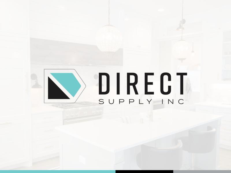 Direct Supply Logo branding agency brand and identity icon design branding michigan typography logo brand