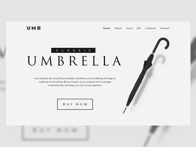 Classic Umbrella: Stay Warm