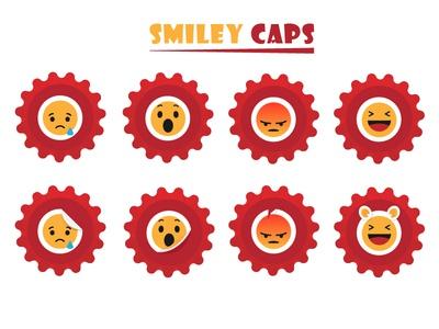 Smiley Caps