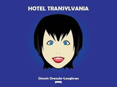 Hotel transylvania's Dennis Dracula-Loughran