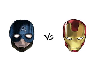 Practice 111: Captain America Vs Iron Man