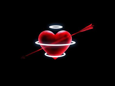 Valentine's Day design poster art love valentines day photoshop design adobe
