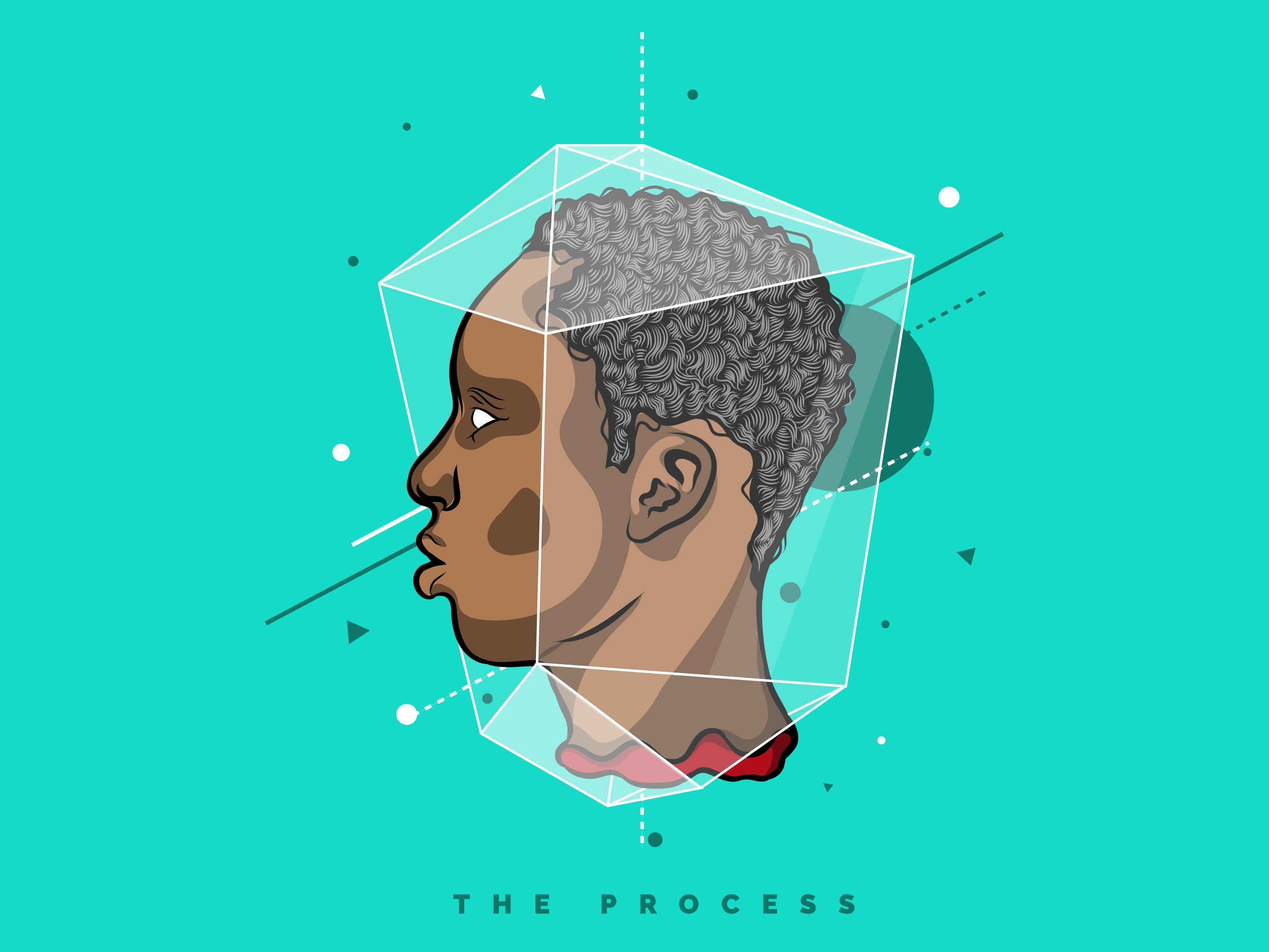 The process dribbble