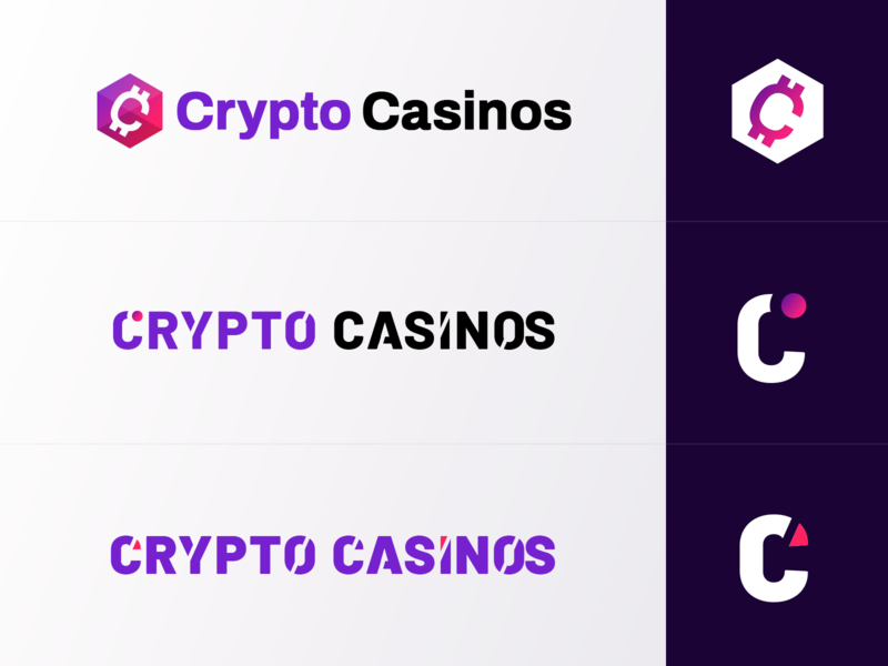 CryptoCasinos.com Logotypes igaming affiliate online caisnos casino logotype logo cryptocurrency casinos crypto