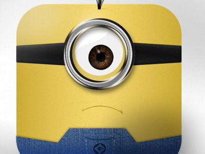 Despicable Me Icon despicable me icon character face