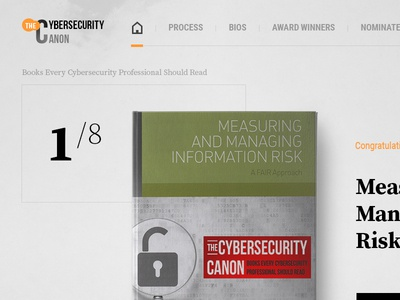 CyberSecurity Books Library canon cyber security security library landing page books