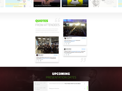 Sujan Patel Landing Page cta tweets videos sujan patel speakers landing page