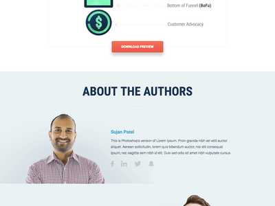 Sujan Patel New Book Landing Page prelaunch page pre-order landing page landing page design book page design