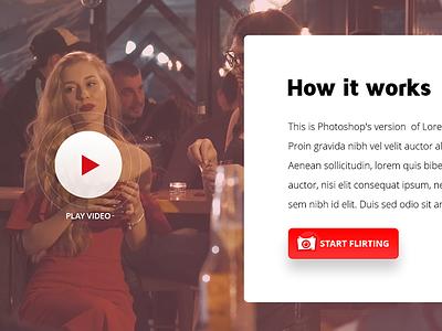 How it works video devil logo cta how it works flirt dating video mobile app
