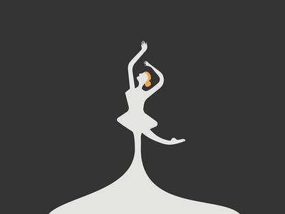 Ballerina Logo Design