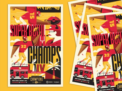 Chiefs Official Super Bowl Poster!