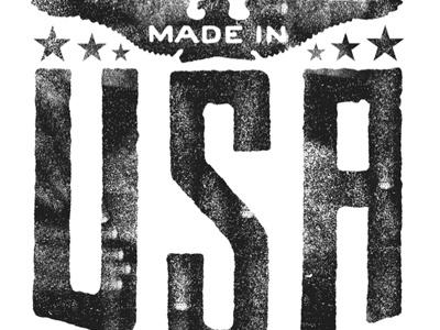 USA, USA, USA... type design lettering