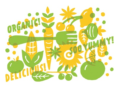Food Icons fruit transparency iconography organic lemon corn tomato fork lifestyle healthy food icons