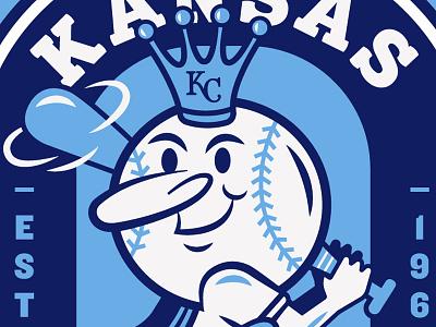 Royals Mural preview mural logo icon kc sports crown mr. royal badge seal kansas city royals baseball
