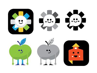 Education Icons logo favicon school house speech bubble speech apple icon system icon communication edu school education