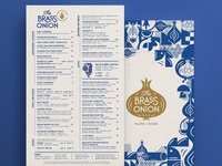 The Brass Onion Menu Crop