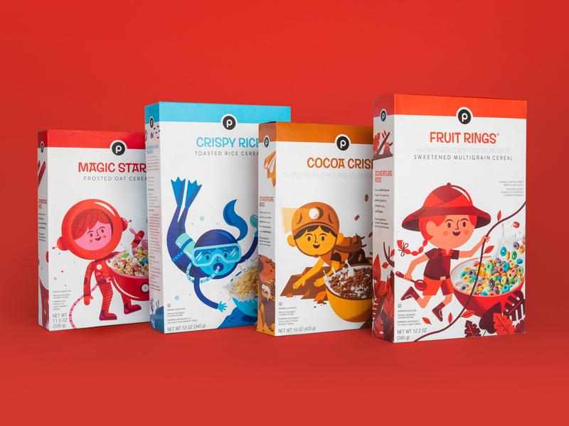 Publix Cereal Line
