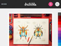 Dribbble browse by color1