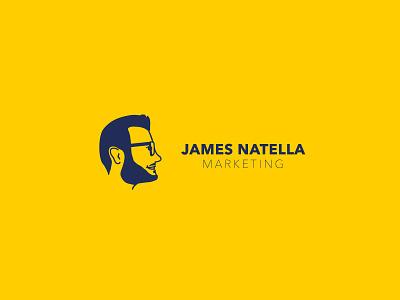 James Natella Marketing Logo Design freelance marketing profile avatar icon logo graphic design design