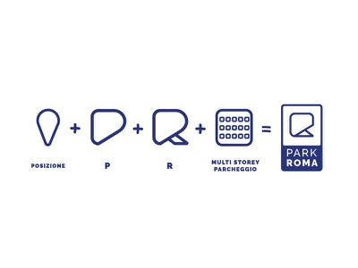 Park Roma Logo Design symbol combination icon graphic design freelance design