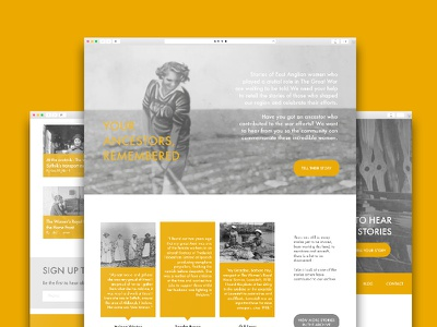 Marker Website Design illustration photography web design website historic graphic design ux ui
