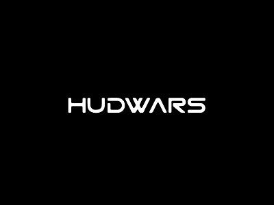 Hudwars Logo typography logo illustration symbol freelance graphic design design