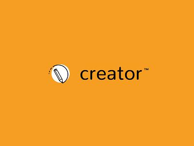 Creator Logo creative identity app symbol design graphic design logo