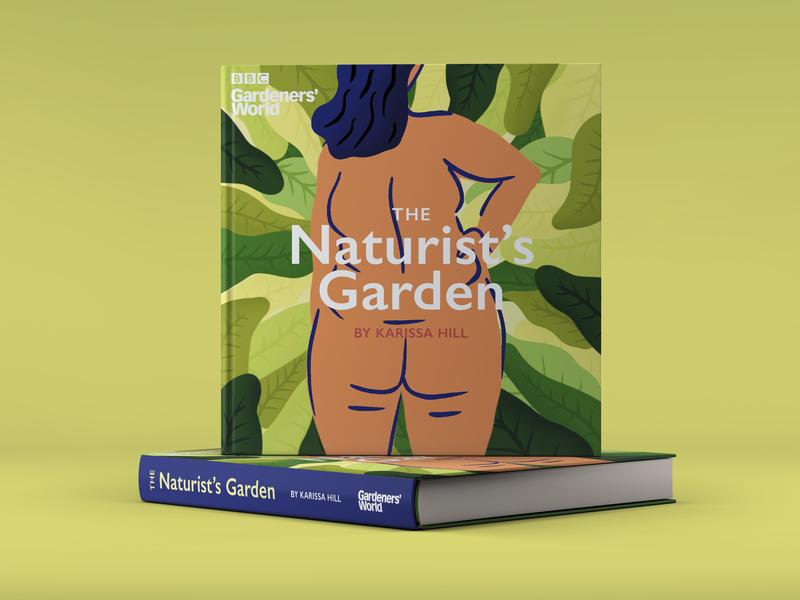 BBC Gardeners' World - The Naturists Garden tv show nudism naturism nude gardening garden nature green illustration idea concept gardeners world bbc book