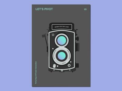 Day03 : Let's Pivot gradients illustration graphic design