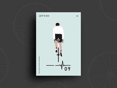 Day 09 : Let's Go 30daychallenge flat illustration graphic design