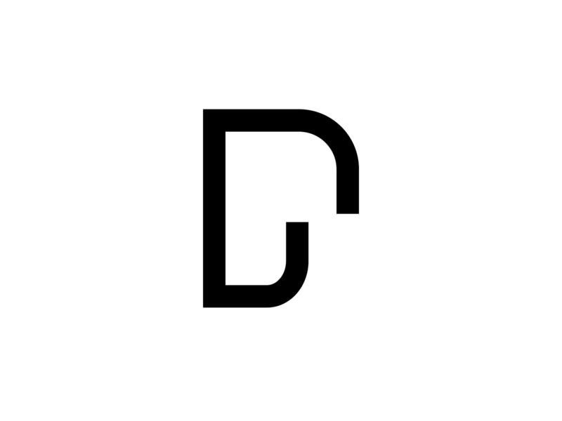 Dp ux app icon branding design abstract vector creative logo dpaola dplogo dp