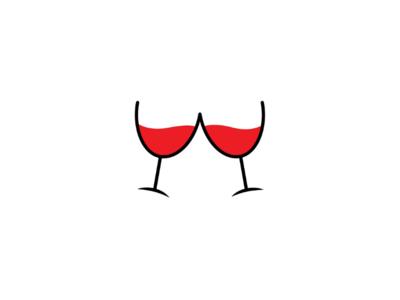Wine camp (negativespace logo)