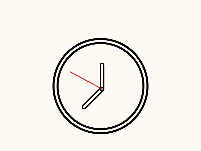 Clock icon circle illustration design logo abstract smart icon app concept animation app animation app dashboard osx icon flat timer realistic os icon mac os icon clock icon mac icon app icon app