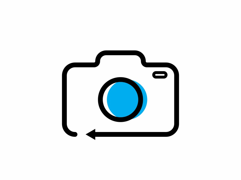 Camera icon ios 5 ios mobile app icons mobile app camera lens arrow illustration icon animation www web icon app camera logo abstract vector icon artwork camera icon