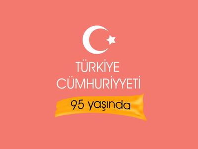 Turkiye cumhuriyyeti 95 yasinda