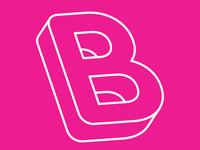 Isometric thin font B