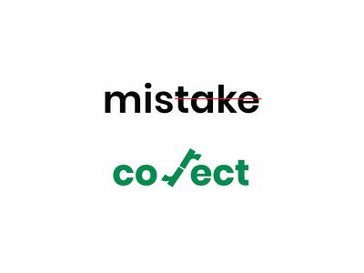 Mistaka and correct